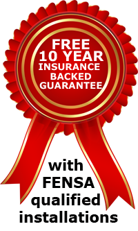 10 year insurance backed guarantee