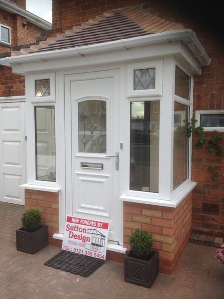 upvc porches birmingham sutton design